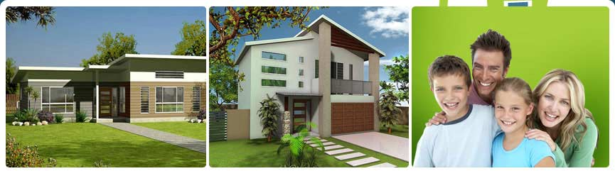 Kit homes are perfect for sloping block narrow lots and for Sloping block home designs nsw
