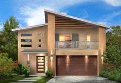 Kit homes are perfect for sloping block narrow lots and for Narrow lot modular homes